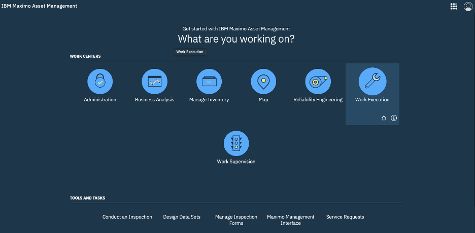Introduction to the Work Execution Work Center